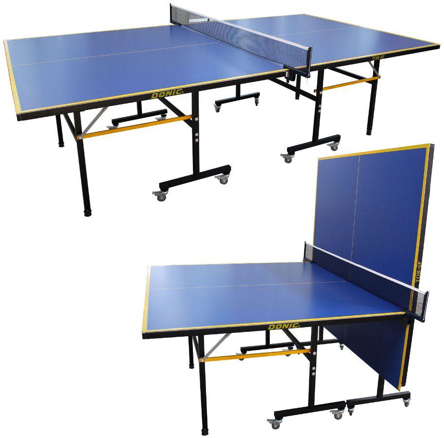 Всепогодные и влагостойкие теннисные столы Donic Теннисный стол всепогодный (синий), TOR-SP