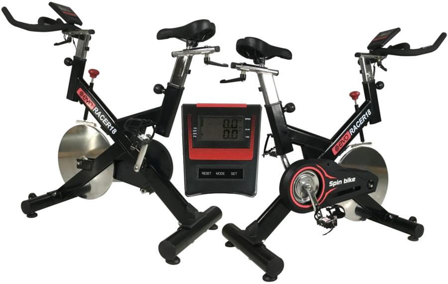 Велотренажёры и велоэргометры EVO Fitness Спин-байк Racer 18