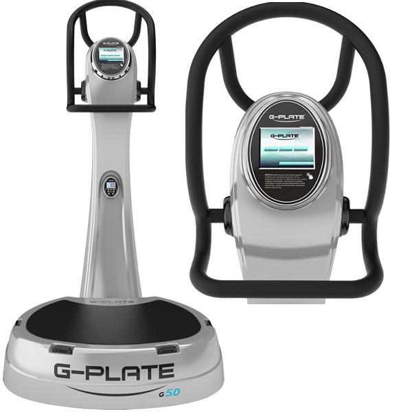 Виброплатформы G-Plate G 5.0 Airsuspension, 2 AC motor, цвет серебро, Виброплатформа