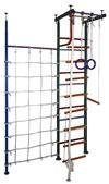 Вертикаль (ГранВиС) ДСК Вертикаль-1+, Г-образный с дополнительной стойкой и канатной сеткой (высота потолка от 2,5 до 2,95 метров)