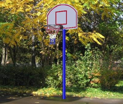 Стационарные стойки для баскетбола и стритбола Вертикаль (ГранВиС) Баскетбольная стойка