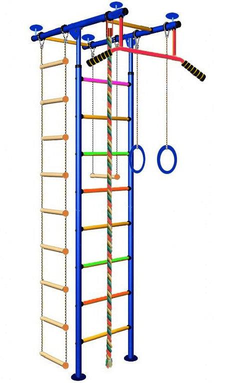 Т-образные комплексы (крепление враспор) Вертикаль (ГранВиС) ДСК Юнга-2.1, Т-образный с турником