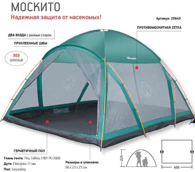 Шатры, беседки и прочие палатки Greenell 25643, Тент от комаров