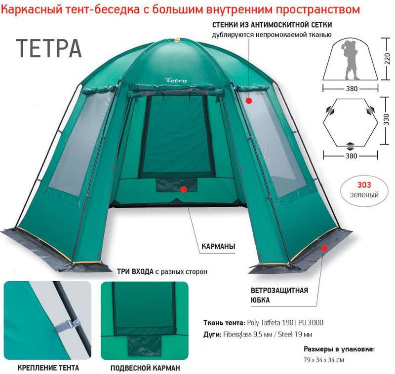 Шатры, беседки и прочие палатки Greenell 25633, Тент-шатёр