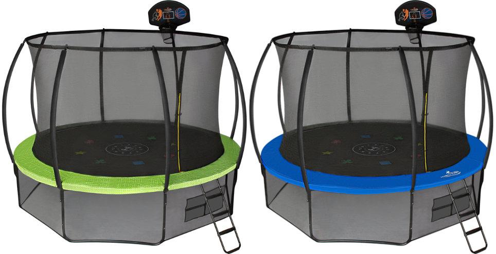 Батуты с защитной сеткой, диаметром от 12 футов (366 см) Hasttings Батут Air Game Basketball, 3.66 метра (12 футов)