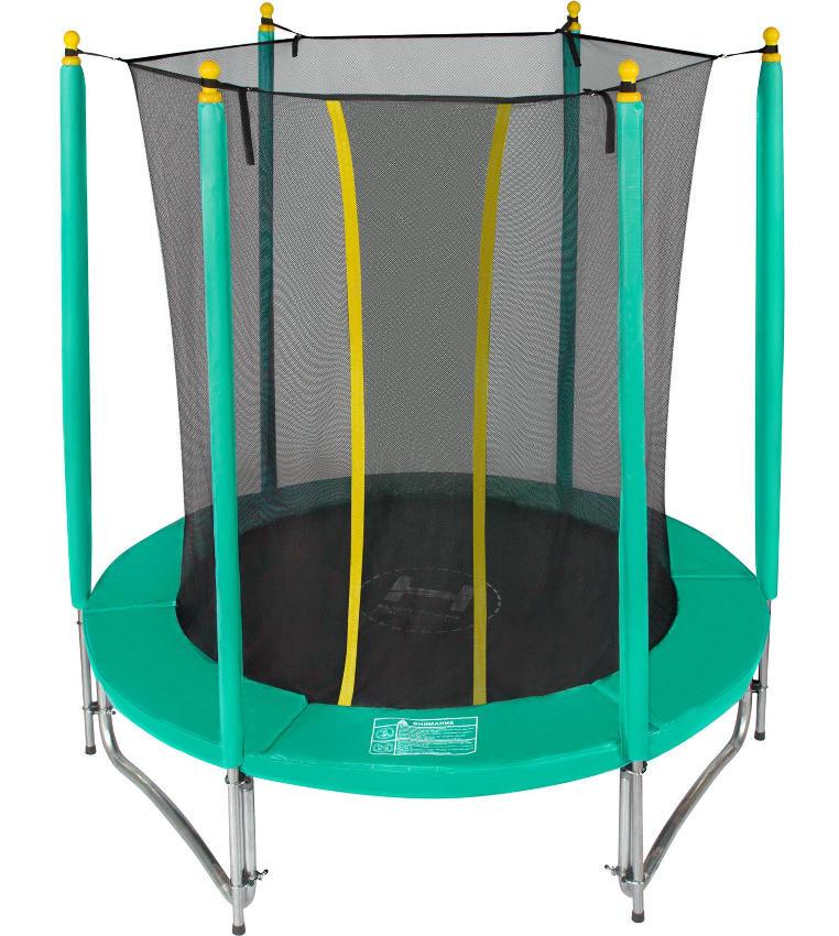 Батуты с защитной сеткой, диаметром до 3-х метров Hasttings Батут Classic Green 1,82 метра (6 футов), зелёный