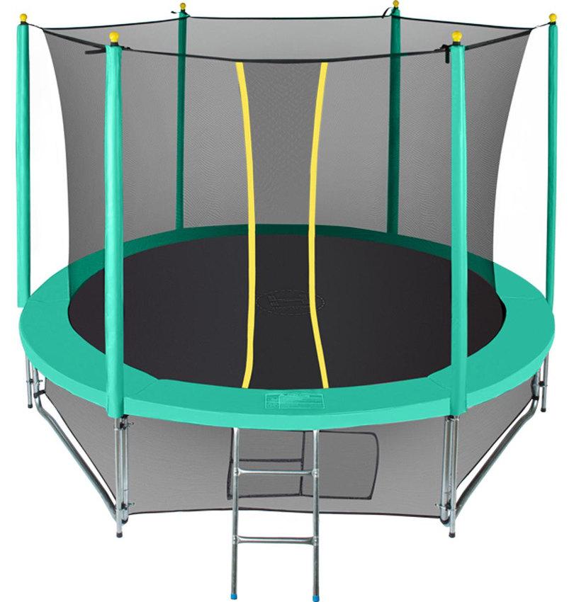 Батуты с защитной сеткой, диаметром от 3-х до 4-х метров Hasttings Батут Classic Green 3,05 метра (10 футов), зелёный