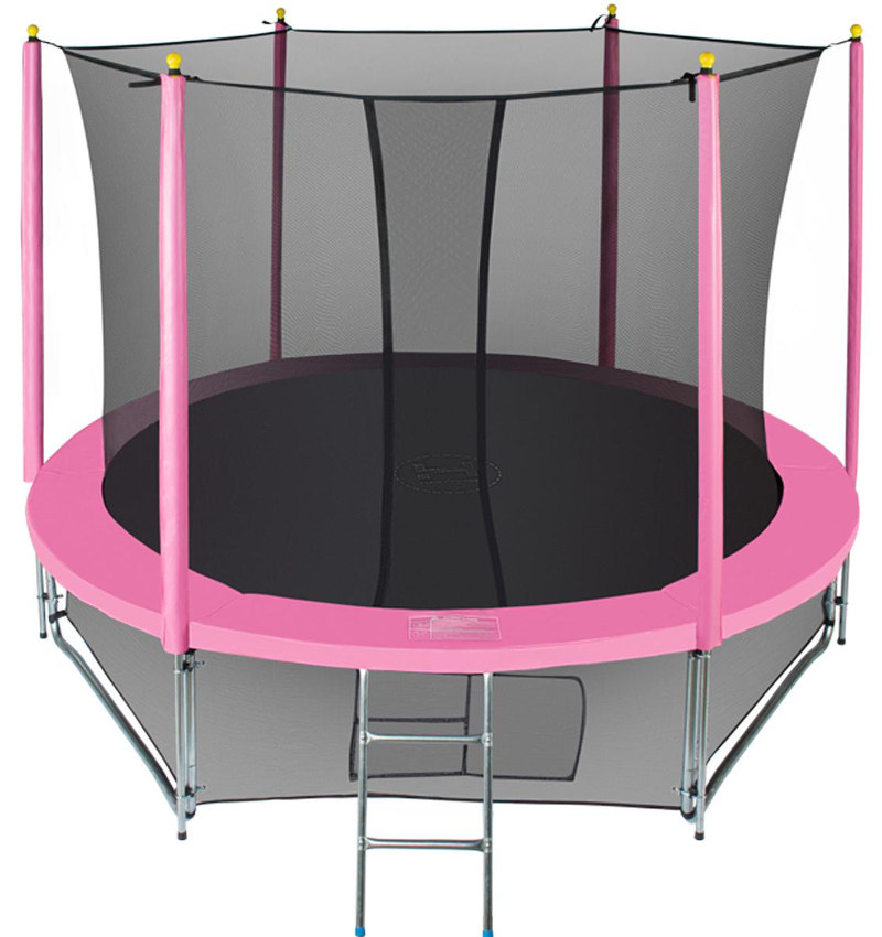 Батуты с защитной сеткой, диаметром от 3-х до 4-х метров Hasttings Батут Classic Pink 3,05 метра (10 футов), розовый