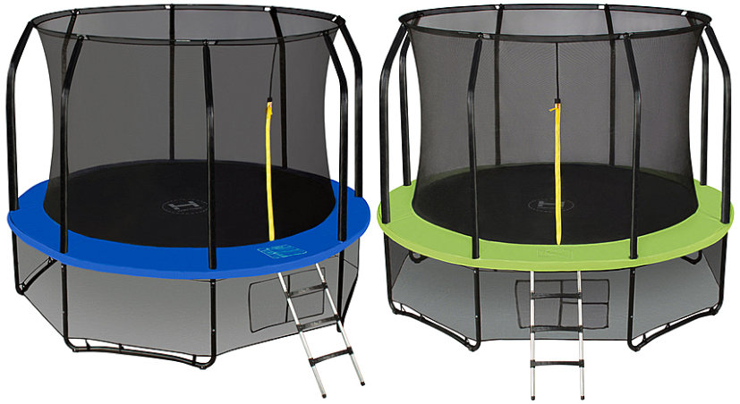 Батуты с защитной сеткой, диаметром от 3-х до 4-х метров Hasttings Батут Sky Double 3,96 метра (13 футов)
