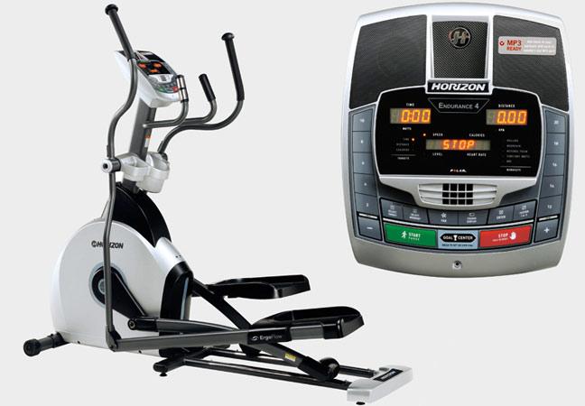 Эллиптические тренажёры Horizon Fitness Endurance 4, Эллиптический домашний эргометр