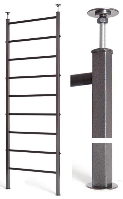 Шведские стенки (крепление враспор) Kampfer Профессиональная шведская стенка KSW professional ceiling (высота от 2,4 до 2,6 м)