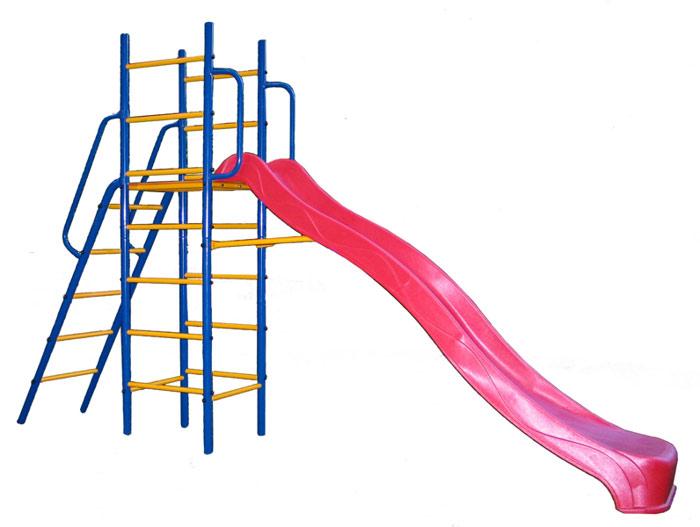 Горки Kampfer Уличный детский спортивный комплекс (горка уличная) Super Descent