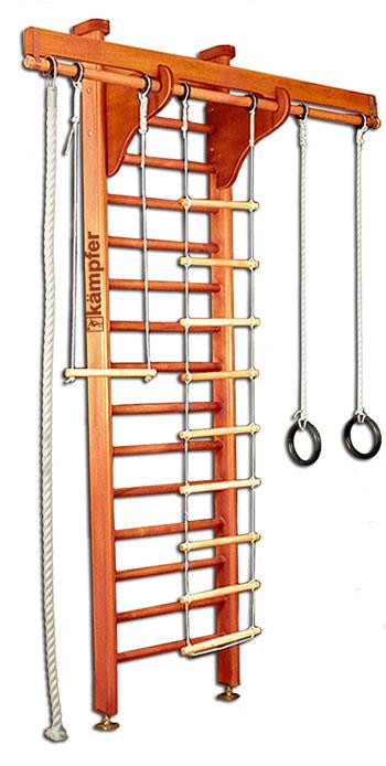 Г-образные комплексы (крепление враспор) Kampfer Домашний спортивный комплекс Wooden Ladder (сeiling), высота до 2,72 м