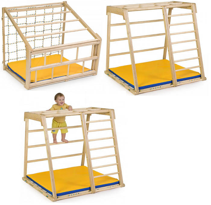 Напольные спортивные комплексы KidWood Детский спортивно-игровой уголок