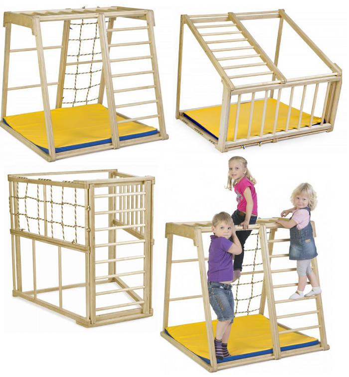 Напольные спортивные комплексы KidWood Детский спортивно-игровой комплекс
