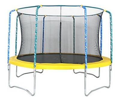 Батуты с защитной сеткой, диаметром от 3-х до 4-х метров Kogee Tramps Батут Sun Tramps 10 футов (3.0 м) с защитной сетью, TC-10-S3