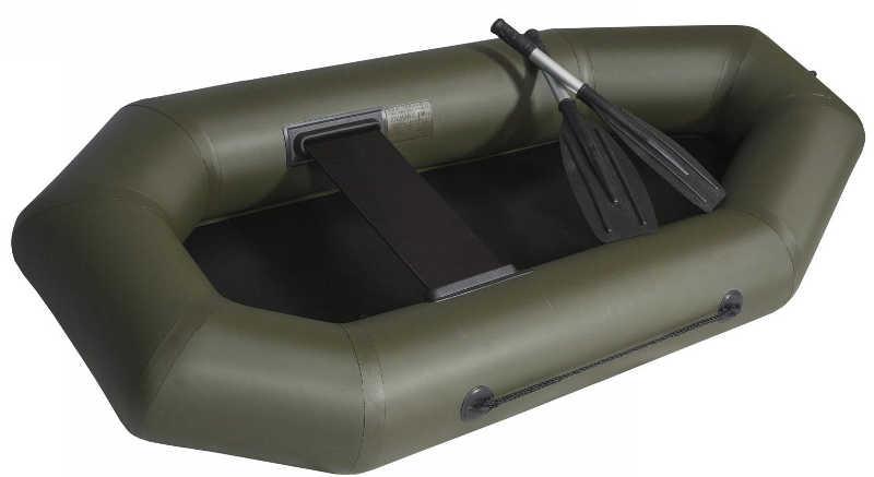 Одноместные и полуторные надувные гребные лодки Ковчег Лодка гребная