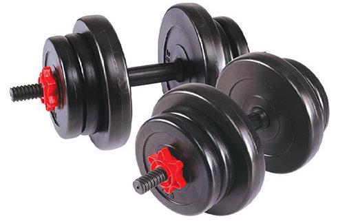 Гантели разборные Lite Weights 2327LW, Гантели сборные 19 кг (2 шт по 9,5 кг)