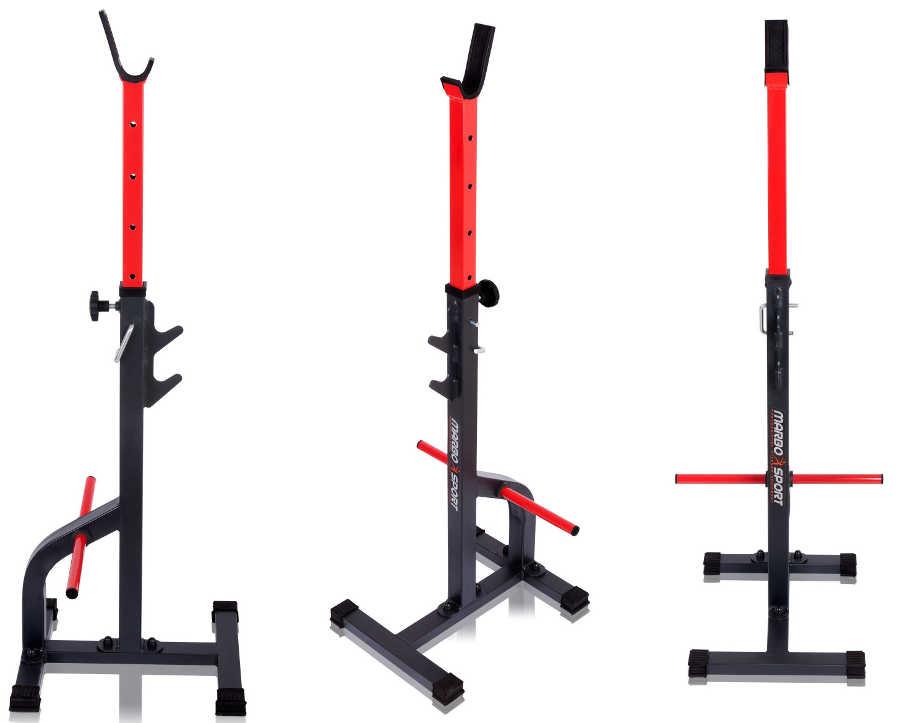 Скамьи, стойки и атлетические центры со свободной нагрузкой Marbo Стойки для штанги MS-S108