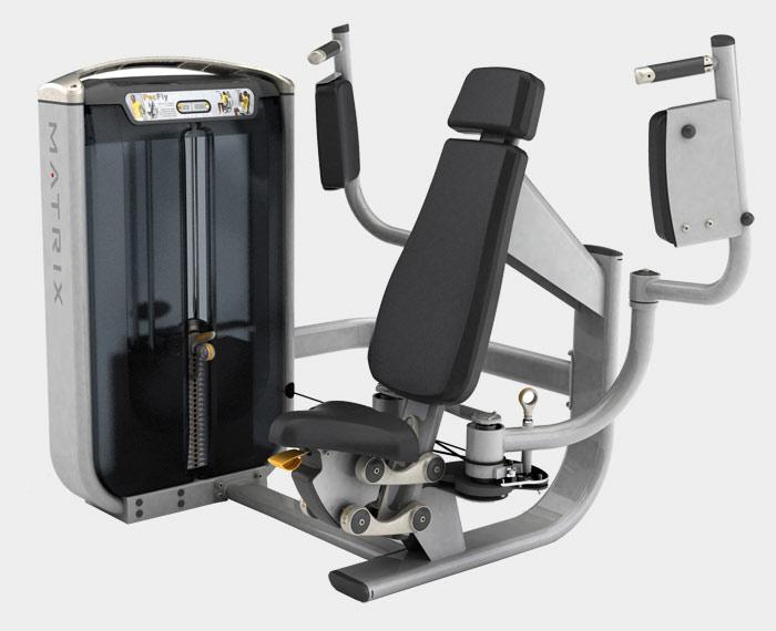 Тренажёры для мышц груди Matrix G7 S12, Независимый баттерфляй