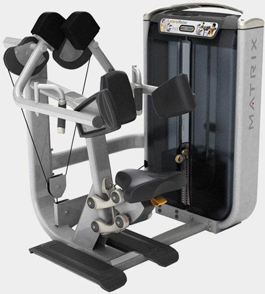 Тренажёры для мышц плечевого пояса Matrix G7 S21, Независимая дельта-машина
