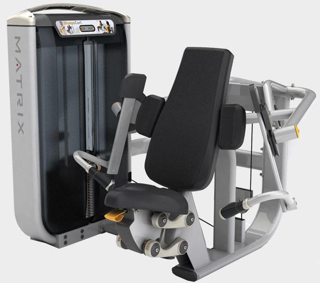 Тренажёры для мышц рук Matrix G7 S40, Независимая бицепс-машина