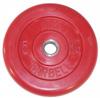 MB Barbell Диск для штанги цветной обрезиненный, 5 кг (31 мм), серия Стандарт