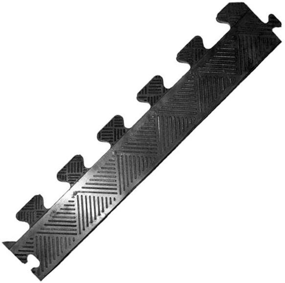 Аксессуары для тренажёров MB Barbell Бордюр резиновый для коврика чёрный, 20 мм
