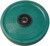 MB Barbell Диск олимпийский цветной обрезиненный, 50 кг (51 мм), серия Евро-классик