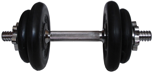 Гантели разборные MB Barbell Гантель разборная обрезиненная 9 кг (диски серии