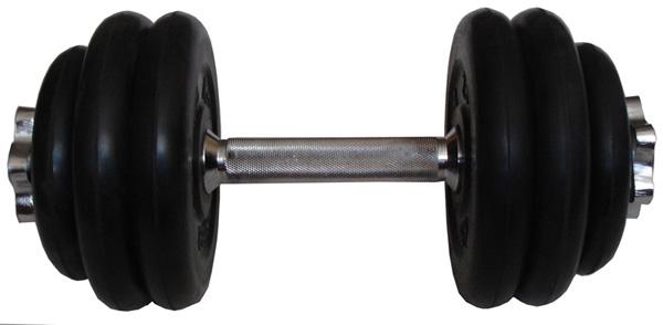 Гантели разборные MB Barbell Гантель разборная обрезиненная 14 кг (диски серии