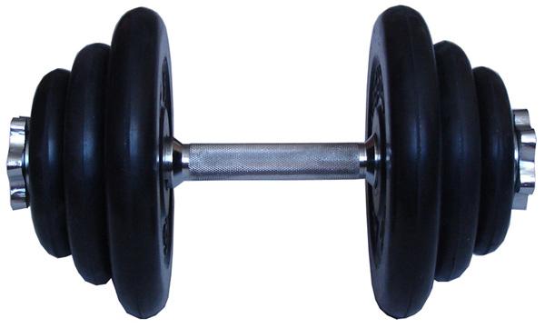 Гантели разборные MB Barbell Гантель разборная обрезиненная 19 кг (диски серии