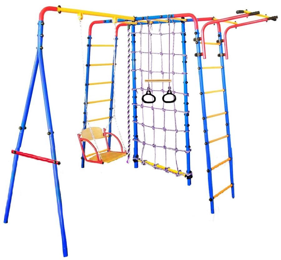 Металлические спортивно-игровые комплексы для установки на улице Midzumi Уличный детский спортивный комплекс Suteki
