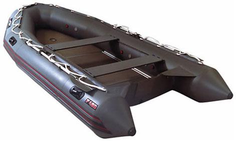 Надувные моторные шлюпки Мнев и К Надувная моторная шлюпка Фаворит F-450 (слань+киль)