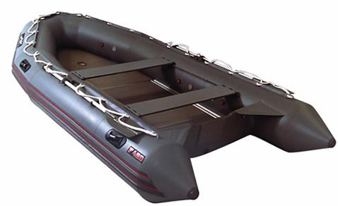 Надувные моторные шлюпки Мнев и К Надувная моторная шлюпка Фаворит F-500 (слань+киль)