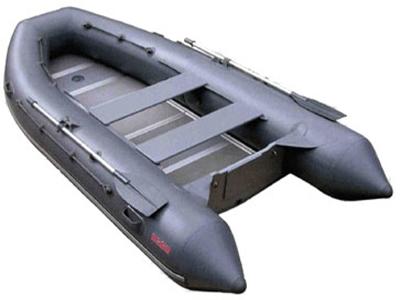 Лодки под мотор больших размеров Мнев и К Надувная моторно-гребная лодка Кайман N-360 (слань+киль)