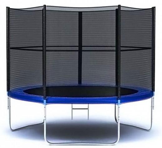 Батуты с защитной сеткой, диаметром до 10 футов (305 см) Moove&Fun Батут с защитной сеткой и лестницей 6 футов (183 см), MFT-6FT-3