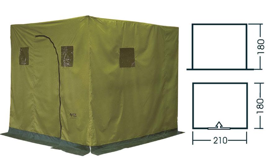 Шатры, беседки и прочие палатки Нова Тур (Nova Tour) 24068, Баня походная (тент) N
