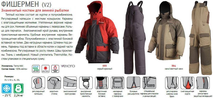 фишермен одежда для рыбалки официальный сайт