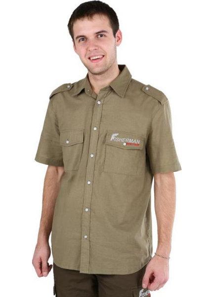 Куртки, жилеты, рубашки для туризма, охоты и рыбалки Нова Тур (Nova Tour) 95118, Рубашка с коротким рукавом