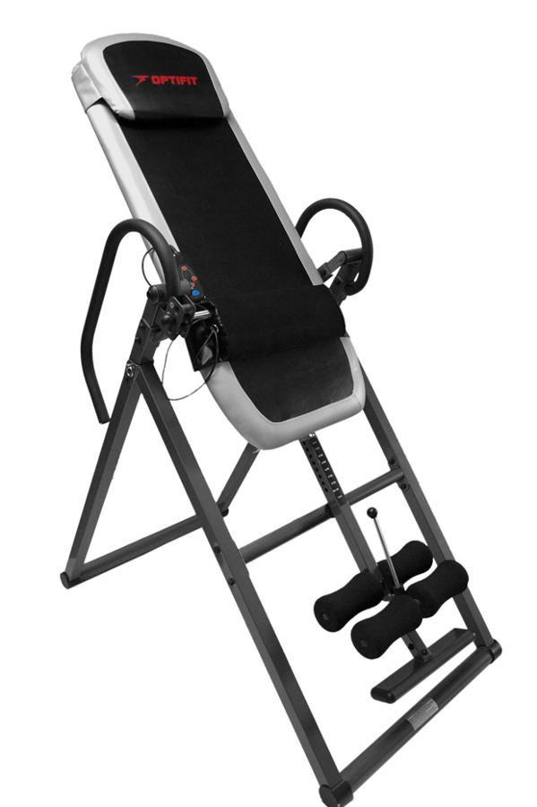 Гиперэкстензии и тренажёры для спины OptiFit NQ-3900 Vista, Инверсионный стол с массажем