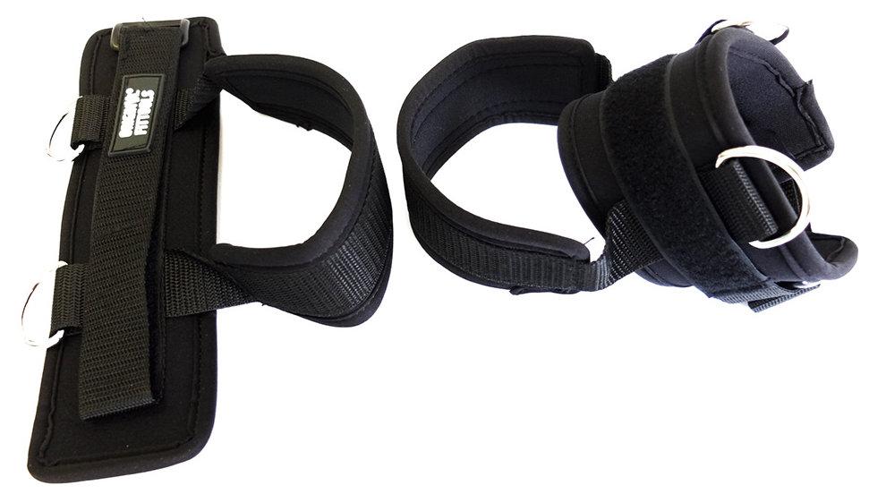 Эспандеры Original Fit.Tools Манжеты для ног (пара) для тренировок с трубчатыми эспандерами, FT-ASP