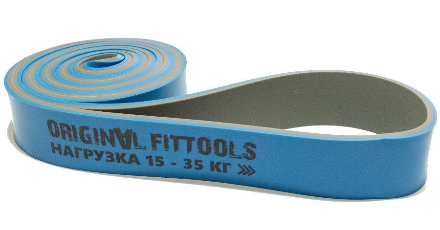 Эспандеры Original Fit.Tools Эспандер-петля двуцветный 15-35 кг, FT-DCL-32