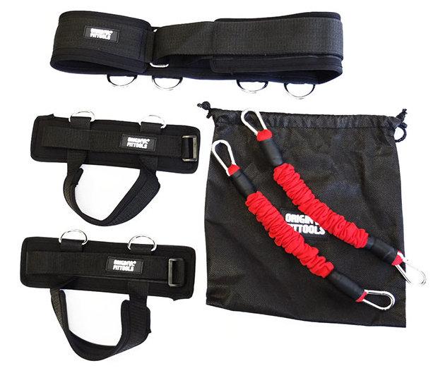 Эспандеры Original Fit.Tools Система трубчатых эспандеров для тренировки прыжков, FT-LJEX-01