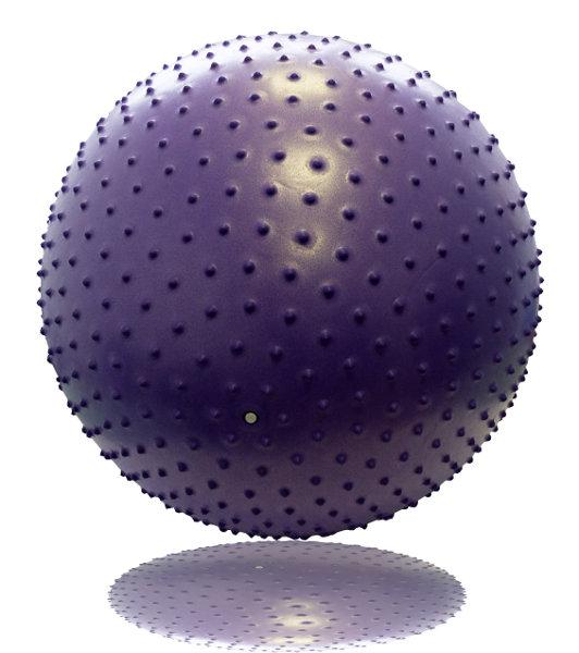 Гимнастические мячи Original Fit.Tools Гимнастический мяч с массажным эффектом 75 см, FT-MBR-75