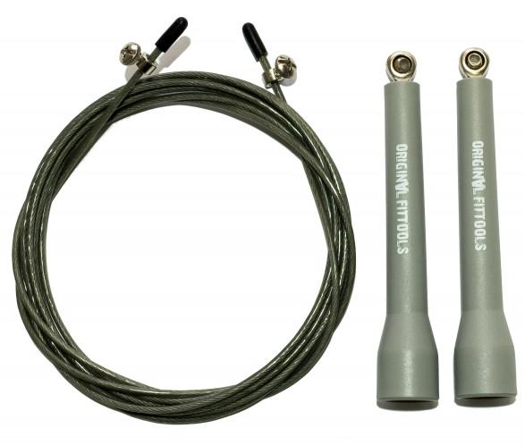 Скакалки Original Fit.Tools Скакалка скоростная профессиональная с регулируемыми ручками, FT-JR17