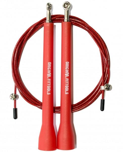 Скакалки Original Fit.Tools Скакалка скоростная профессиональная с регулируемыми ручками, FT-JR25