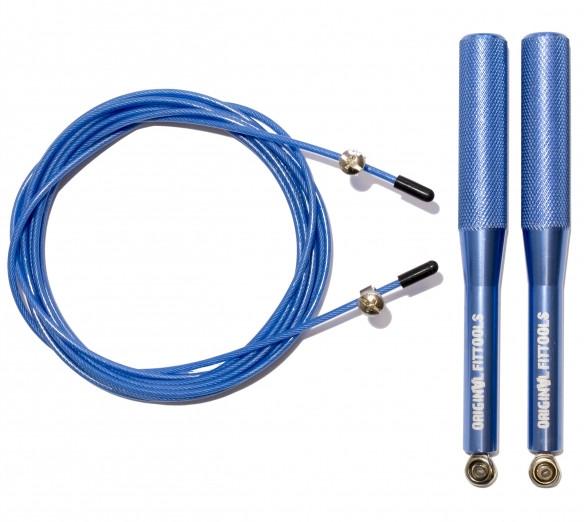 Скакалки Original Fit.Tools Скакалка скоростная профессиональная с регулируемыми ручками, FT-JR33