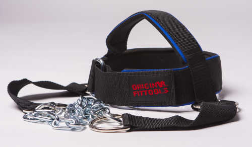 Аксессуары для тяжёлой атлетики Original Fit.Tools FT-HH-NLN_LG, Упряжь для тренировки мышц шеи, нейлон