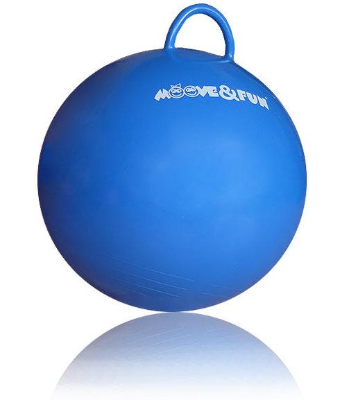 Гимнастические мячи Original Fit.Tools Мяч-попрыгун детский с круглой ручкой, диаметр 45 см, MF-HPB-45-01